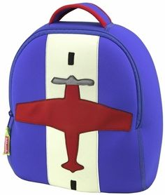 Toddler backpack - with monogram in the middle