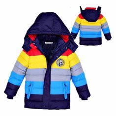 Children Jackets Boys Girls Winter down coat 2017 Baby Winter Coat Kids warm outerwear Hooded Coat for yrs Children Clothes - Kid Shop Global - Kids & Baby Shop Online - baby & kids clothing, toys for baby & kid Girls Winter Coats, Kids Coats, Winter Kids, Baby Winter, Boys Winter Jackets, Baby Boy Outfits, Kids Outfits, Fall Outfits, Baby Shop Online