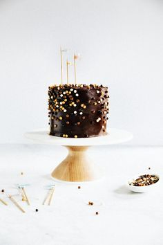 classic yellow cake with chocolate crème fraîche frosting   hummingbird high    a desserts and baking blog