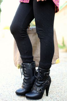 combat boots style. shoes