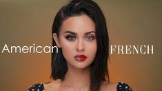 American VS French Makeup Tutorial – Beauty and Fashion Tips and Ideas Korean Beauty Tips, Korean Makeup Tips, Korean Makeup Tutorials, Makeup Tutorials Youtube, Makeup Youtube, Beauty Makeup, Eye Makeup, Hair Makeup, Hair Beauty