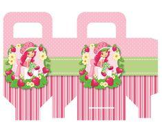 Kit para imprimir da Festa Moranguinho - Dicas pra Mamãe