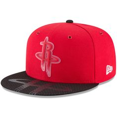 d7bb127142c9 Houston Rockets New Era Team Color On-Court 9FIFTY Snapback Adjustable Hat  - Red