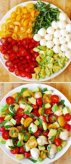 Eat Stop Eat Diet Plan to Lose Weight - - Caprese Avocado Salad Diet Plan Eat Stop Eat - In Just One Day This Simple Strategy Frees You From Complicated Diet Rules - And Eliminates Rebound Weight Gain Healthy Salad Recipes, Healthy Snacks, Vegetarian Recipes, Healthy Eating, Cooking Recipes, Healthier Desserts, Stop Eating, Clean Eating, Mozzarella Salat