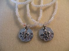 Beautiful, personalized, hand crafted stretch cord necklaces.........makes great gifts......Abba Dabba Beads