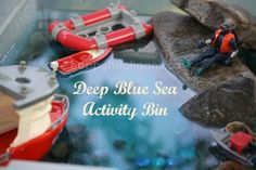 deep blue sea bin - happy hooligans