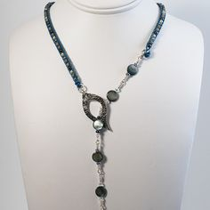 leather lariat Wow! $160 ??? No wonder I don't wear jewelry