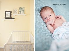 newborn boy portraits and nursery decor ideas  Andrea Warden » Photography