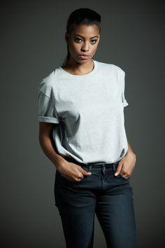 #Derriere fall/winter 2014 #dderriere #denim #Jeans #RegularBull #BlueBlack #Maglietta #Tshirt #Grey #Logo #Ricamo #Red