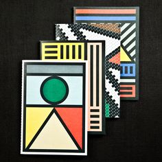 Notebooks inspired by South African house painting