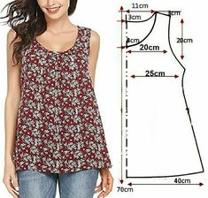 Sewing Clothes Women, Diy Clothes, Girls Dresses Sewing, Costura Fashion, Sewing Blouses, Dress Making Patterns, Fashion Sewing, Clothing Patterns, Sewing Patterns