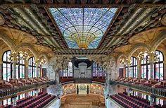 Image result for palau de la musica catalana barcelona spain