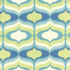 Hourglass Seaglass Blue Hourglass Print Cotton Drapery Fabric - SW47049 - Fabric By The Yard At Discount Prices
