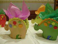 Ares Organizacion de Eventos: dinosaurios carameleros