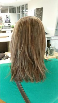 Red head going lighter starting with highs and lows round 1! By Ashley Bean