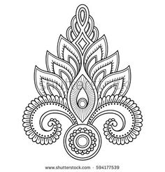 Lotus flower tattoo designs henna tattoo flower template in indian henna tattoo flower template in indian style ethnic floral paisley lotus mehndi style decorative pattern in oriental style mightylinksfo