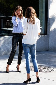 Emmanuelle Alt, editor-in-chief of Vogue Paris Emmanuelle Alt Style, Style Désinvolte Chic, Her Style, Style Icons, Trendy Style, Fashion Week, Look Fashion, Trendy Fashion, Fashion Trends