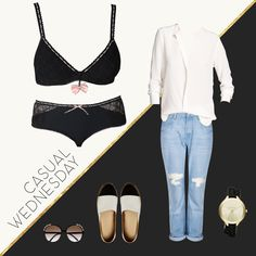 We love our Geisha lingerie set! Make a fashion statement with geometrical french lace, and match it with a casual outfit, a boyfriend jeans and a loose off-white shirt. Classy return from the summer holidays!