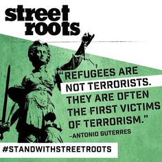 #StandWithStreetRoots #Infosnap