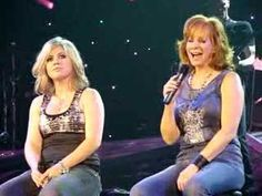 Reba & Kelly singing Up on the Mountain.  Very emotional duet.  Love their performance.