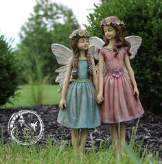 Fairy sisters Do you love miniature gnome and fairy gardens? If you want fairy garden decor and fairy gardening ideas like you see on our feed, check us out!