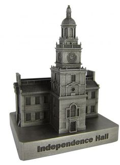 Pewter Independence Hall, Replica Buildings