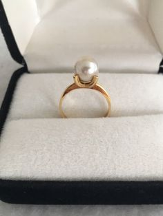 A personal favorite from my Etsy shop https://www.etsy.com/listing/498639954/18k-solid-gold-cultural-pearl-solitaire