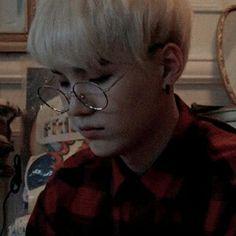 Yoongi in glasses >>>> Jimin, Min Yoongi Bts, Min Suga, Bts Bangtan Boy, Daegu, Hoseok, Namjoon, Taehyung, Yoonmin