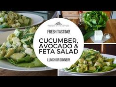 Looking for a flavourful and easy to prepare salad that works as a starter or as a main? Try our CUCUMBER, AVOCADO & FETA SALAD - something fabulous awaits! Feta Salad, Cucumber Salad, Easy Salads, Healthy Salad Recipes, Homemade Fruit Fly Trap, Grated Carrot Salad, Parmesan Mashed Potatoes, Avocado Recipes, Butter Recipe