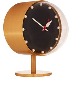 The Vitra Design Museum has created this re-edition 1948 night clock from the work of Modernist founder George Nelson, whose iconic designs elegantly sum up the artistic mood of the late forties and fifties #LibertyGifts #LibertyHome