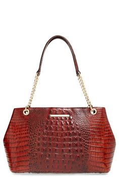Free shipping and returns on Brahmin 'Corington' Tote at Nordstrom.com. Glazed, croc-embossed leather adds signature sophistication to a perfectly poised tote finished with side snap gussets and polished goldtone hardware.