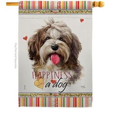Breeze Decor Uniquely design for hanging indoor or outdoor use. We are committed to offering you exceptional values. Our customers enjoy displaying our house flag for longer periods. Dog Breed: Havanese Cuban Source by wayfair The post Breeze Decor Bulldog Happiness – Impressions Decorative 2-Sided Polyester 40 x 28 in. House Flag Dog Breed: Havanese Cuban appeared first on Sellers Canines.