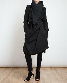 Love this Ann Demeulemeester coat