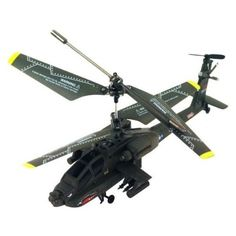 Best Helicopters NC® BRAND - NEW GENUINE SYMA S109G 3CH GYRO RTF MINI APACHE INDOOR RC HELICOPTER WITH AC CHARGER
