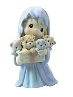 Precious Moments Bearing Gifts of Great Joy Nativity Figurine 112863