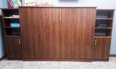 Murphy Bed Wallbed by Murphy Wallbed USA Manhattan Collection #murphybed #wallbed #murphywallbedusa
