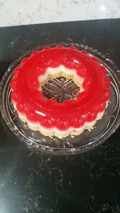 Tupperware jelly cheesecake