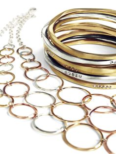 Accent your favorite clothes or necklaces with these #bracelets from our collection from #lanebryant! Feel special!