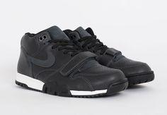 NIKE AIR TRAINER 1 (BLACK LEATHER) - Sneaker Freaker