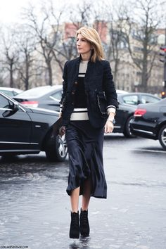 So dang wearable and on the money. #Sarah Ruston well done in Paris.