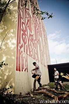 Retna Miami 2011 #retna #streetart