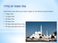Get your #DubaiVisa with #UAEOnlineVisa Want to know more about various #TypesOfDubaiVisas available to enter The UAE? Must watch my video and book your #DubaiVisa right now with #UAEOnlineVisa.com!