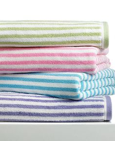 Love these four colors--stripes