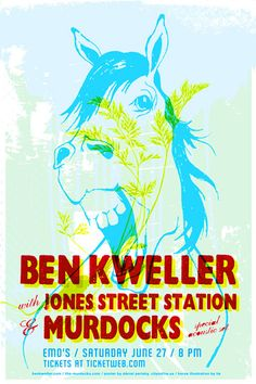 I love Ben Kweller, and came to love Jones Street Station at one of his shows.