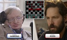 Ant-Man v Stephen Hawking: Epic video of quantum chess battle