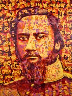 """Saatchi Art Artist Marshall Sharpe; Painting, """"AlexanderʻIolani Liholiho (Kamehameha IV)"""" #art"""