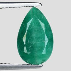 Other Emeralds 164398: 2.59Cts Green Pear Emerald Natural Loose Gemstone See Video -> BUY IT NOW ONLY: $194.25 on eBay!