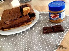 Gâteau au chocolat et au beurre de cacahuètes