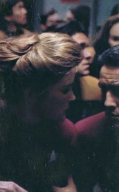 Favorite scene from Basics Part I. Chakotay catches Janeway as she falls. It only lasts for a second or two but damn!