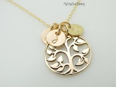 Tree of Life Necklace Family tree Jewelry by MyTinyStarShining